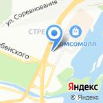 Гермес Флора на карте Красноярска