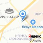 ДЭФО-Красноярск на карте Красноярска