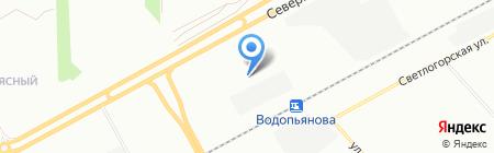Свой Сад на карте Красноярска
