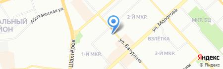 РСК на карте Красноярска