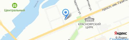 Мастер-Классик на карте Красноярска