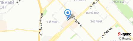 Леди на карте Красноярска