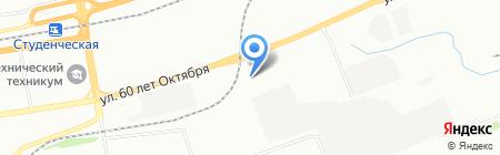 ПКСК на карте Красноярска