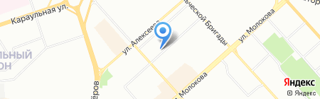 ГранИТ Аутсорсинг на карте Красноярска