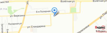 Синель на карте Красноярска