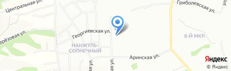 Block124 на карте Красноярска
