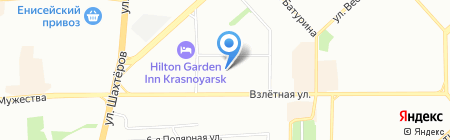 Шарлотка на карте Красноярска