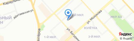 Вне времени на карте Красноярска