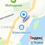 АренаЛазер на карте Красноярска