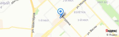 ТТК-Сибирь на карте Красноярска