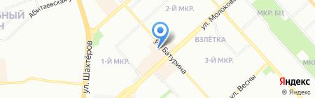 Shendel на карте Красноярска