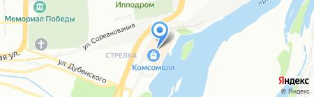 Синнабон на карте Красноярска