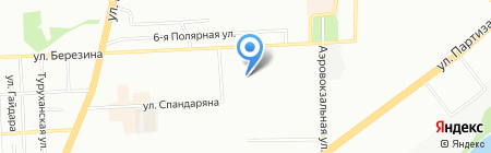Русь Сиб Строй на карте Красноярска