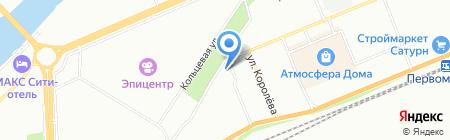 Солнечные Зайчики на карте Красноярска