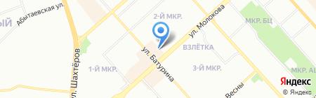 Касадель на карте Красноярска