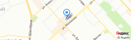 Радиотехника на карте Красноярска