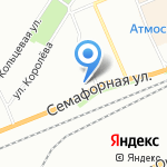 Поликлиника №6 на карте Красноярска