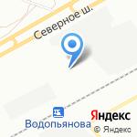 СП на карте Красноярска