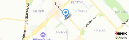 ИмпериалЪ на карте Красноярска