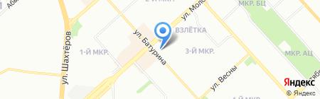 Аптека на карте Красноярска