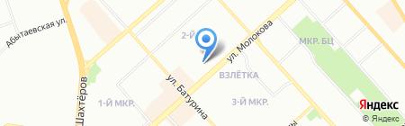 ТеплоСпецКомплекс на карте Красноярска