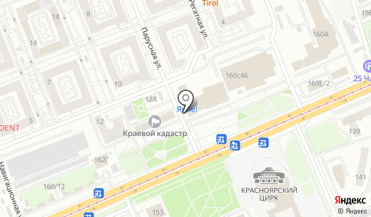 Джунгли. Схема проезда в Красноярске