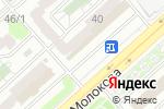 Схема проезда до компании Ателье в Красноярске
