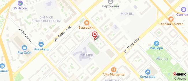 Карта расположения пункта доставки Красноярск 78-ой Добровольческой бригады в городе Красноярск