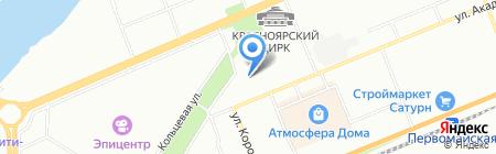 Аргомед на карте Красноярска