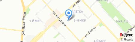 Тасеевская музыкальная школа на карте Красноярска