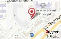 Схема проезда до компании  Издательский Дом «Элит » в Красноярске