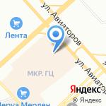 Л`Этуаль на карте Красноярска