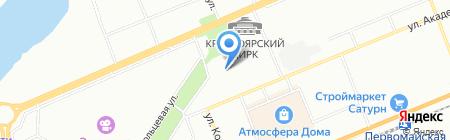 Центр ремонта на карте Красноярска