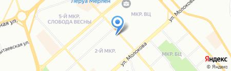 Маргарита на карте Красноярска