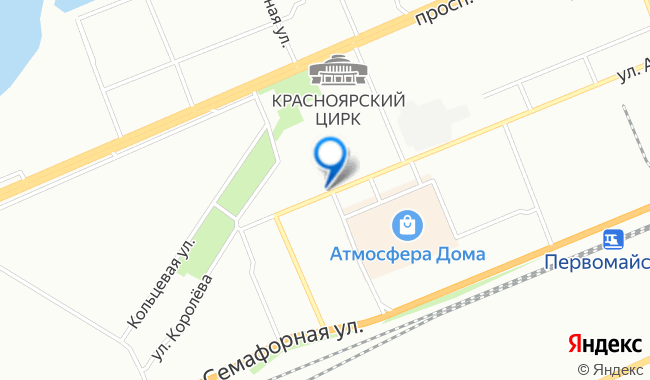 Location on map