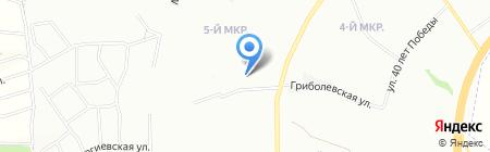 Алекс и К на карте Красноярска