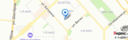 Специализированное монтажное эксплуатационное предприятие Красноярского края на карте Красноярска