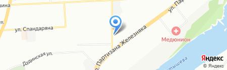 Фармакопейка на карте Красноярска