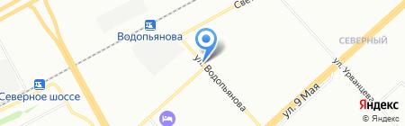 Апельсин на карте Красноярска