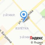 Соль и Перец на карте Красноярска