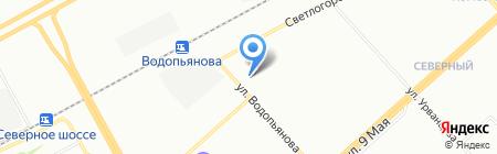 Спецавтотехника на карте Красноярска