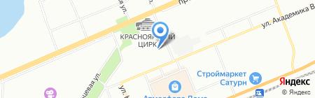 100 друзей на карте Красноярска