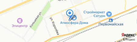 Любимый шкаф на карте Красноярска