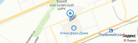 АвтоАзарт на карте Красноярска