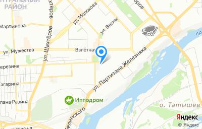 Местоположение на карте пункта техосмотра по адресу г Красноярск, ул Аэровокзальная, д 13