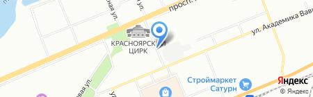 ИДЕЯ на карте Красноярска