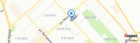 Престиж на карте Красноярска