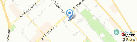 Tez-Tour на карте Красноярска