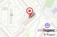Схема проезда до компании Реальное Время в Красноярске