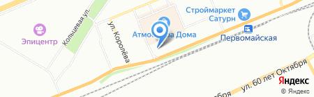 Алтайские ДВЕРИ на карте Красноярска